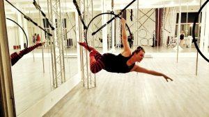 aradia fitness calgary, aerial fitness, lyra, student spotlight, pole fitness calgary